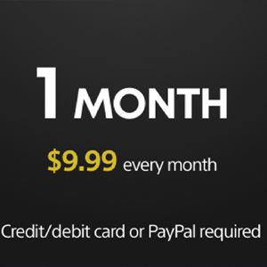 Playstation Plus Membership 1 Month