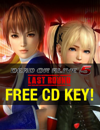 Giveaway | Dead or Alive 5 Last Round Free CD Key