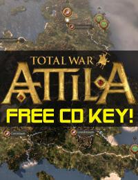 Giveaway | Total War Attila Free CD Key