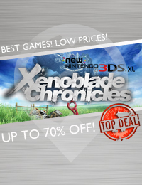Top Deal | Xenoblade Chronicles 3D (Nintendo 3DS)