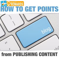 How to Get Points From Publishing Content