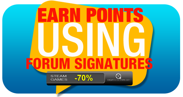 Earn Points Using Forum Signatures 0916-04