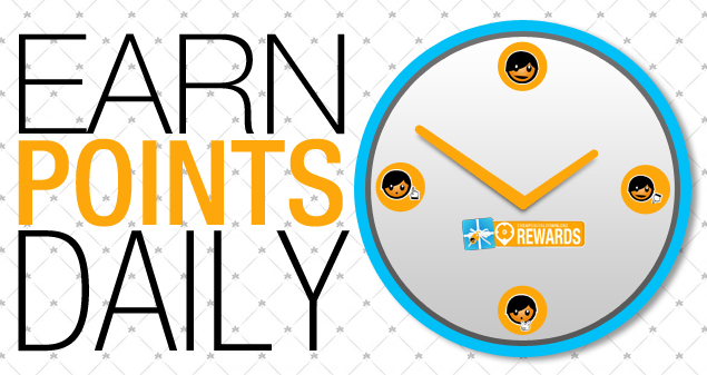 Earn Points Daily 0918-01