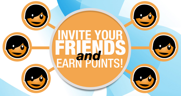 Earn Points From Referrals 0919