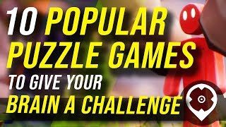 TOP 10 PUZZLE GAMES ON PC!