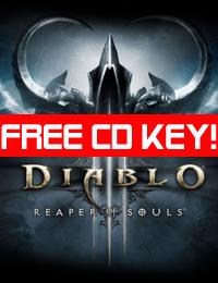 diablo 3 reaper of souls free key