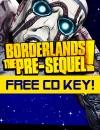 Giveaway | Borderlands: The Pre-Sequel Free CD Key