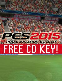 Giveaway   PES 2015 Free CD Key