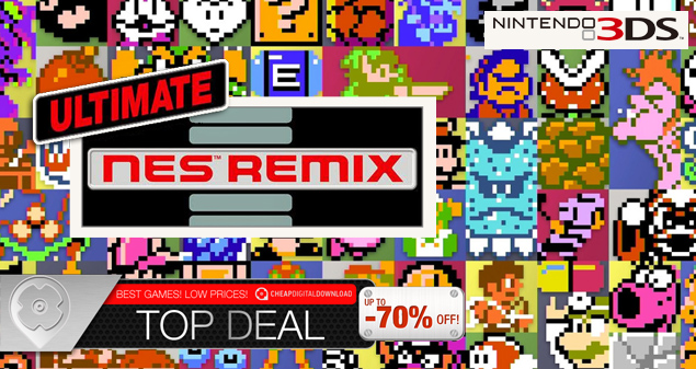 Ultimate NES Remix for 3DS 1124-04