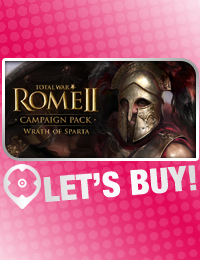 Let's Buy! | Total War Rome 2 Wrath of Sparta CD Key