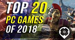 2018's 20 Best PC Games