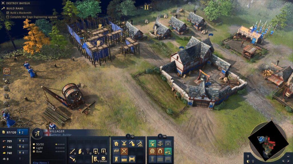 Age of Empires 4 UI