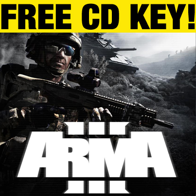 Giveaway | ARMA 3 Free CD Key!