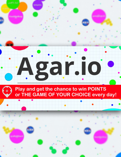 Earn More Points, Get Free Games With Agario!