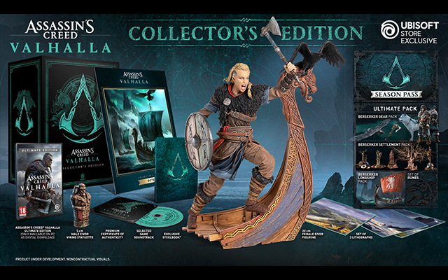 Assassins Creed Valhalla Collectors Edition