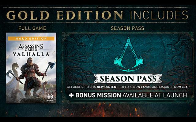 Assassins Creed Valhalla Gold Edition
