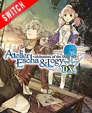 Atelier Escha and Logy Alchemists of the Dusk Sky DX