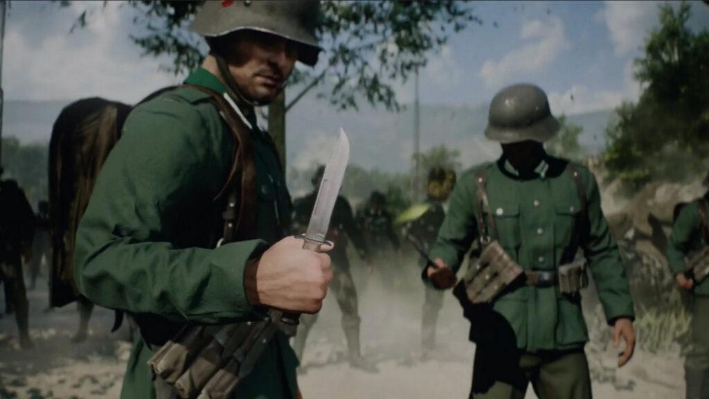 Battlefield 2042 Knife Weapon