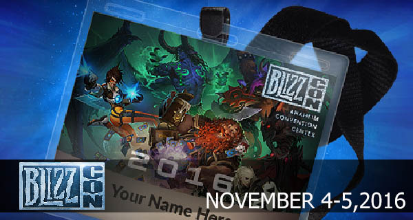 Blizzcon 2016 Cover