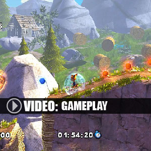 Bubsy The Woolies Strike Back Gameplay Video