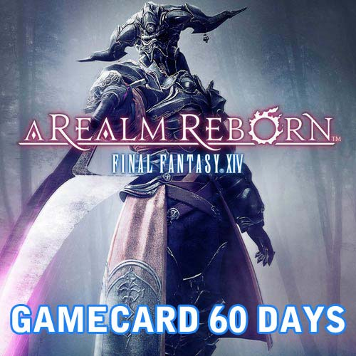 FF14 Gamecard 60 days Prepaid Time Card best price