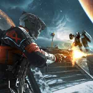 Outerspace Battle in Call of Duty Infinite Warfare