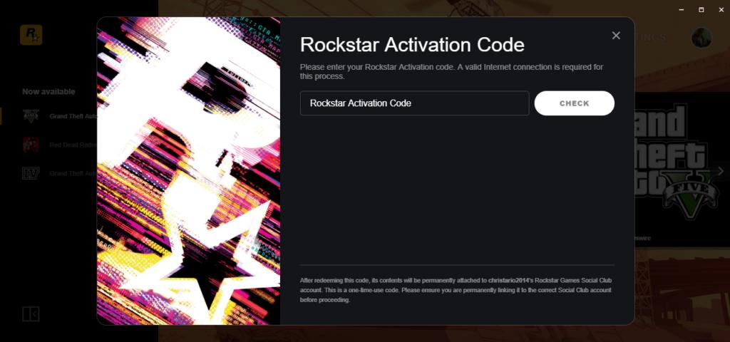 Rockstar Activation Code