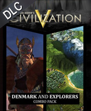 Civilization 5 Denmark and Explorer's Combo Pack