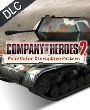 Company of Heroes 2 German Skin Four Color Disruptive Pattern Bundle