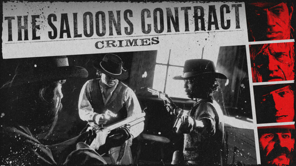 The Saloons Contract Crimes Red Dead Online