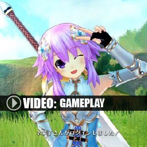 Cyberdimension Neptunia 4 Goddesses Online PS4 Gameplay Video