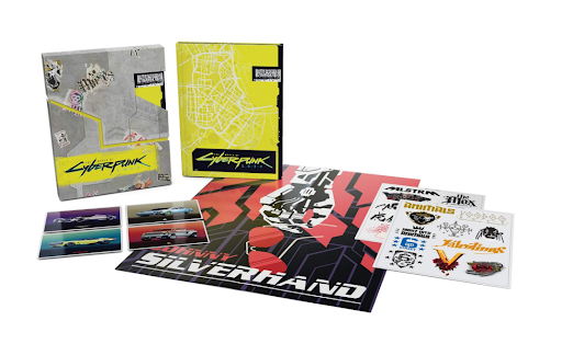 Cyberpunk 2077 Collectors Edition PC Physical Edition
