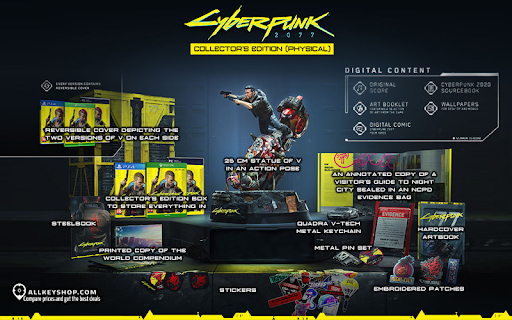 Cyberpunk 2077 Collectors Edition Physical