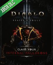 Diablo 3 Reaper of Souls Infernal Pauldrons