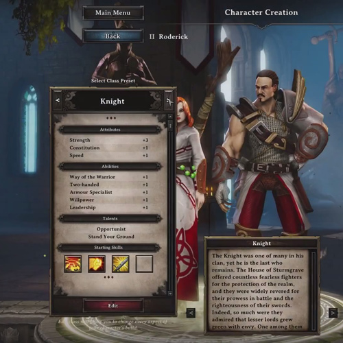 Divinity Original Sin PS4 - Character Creation