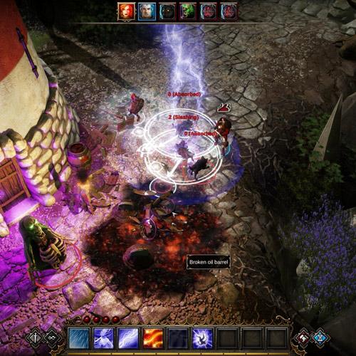 Divinity Original Sin Xbox One Fight Gameplay