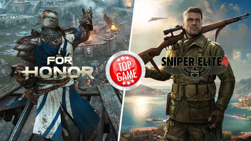For Honor and Sniper Elite 4
