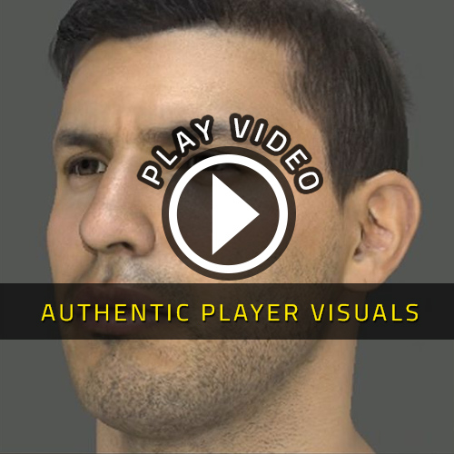 FIFA 15 PS4 - Authentic Player Visuals