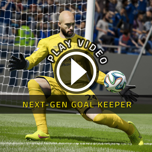 FIFA 15 PS4 - NextGen Goalkeeper