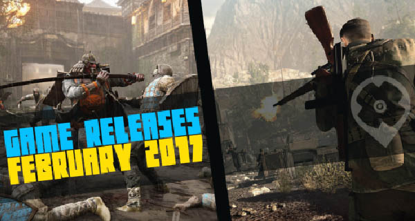 February 2017 Game Releases
