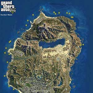 GTA 5 Xbox One - Map Nuclear Waste