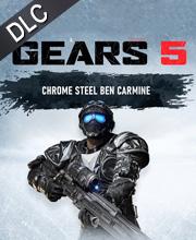 Gears 5 Chrome Steel Ben Carmine