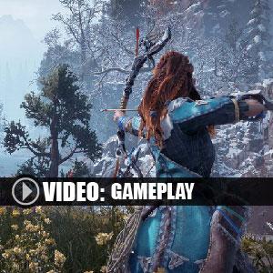 Horizon Zero Dawn The Frozen Wilds PS4 Gameplay Video
