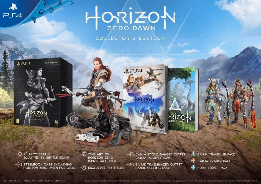 Horizon hero dawn collectors edition