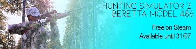 Hunting Simulator 2 Beretta Model 486 by Marc Newson Free Game