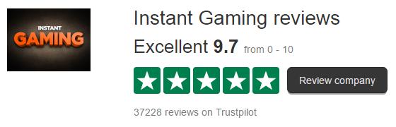 Instant-Gaming-trustpilot