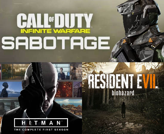 Game Releases For The Whole Year Of 2017