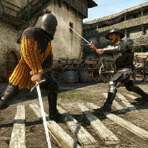 Real historical European sword-fighting