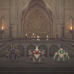 LOST SPHEAR seamless gameplay
