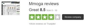 MMOGAcom Trustpilot